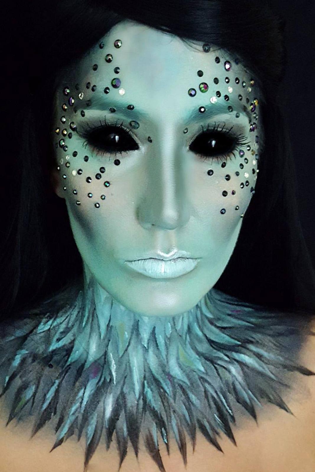 Grime Makeup